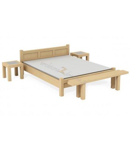 Łóżko Brzozowe L8